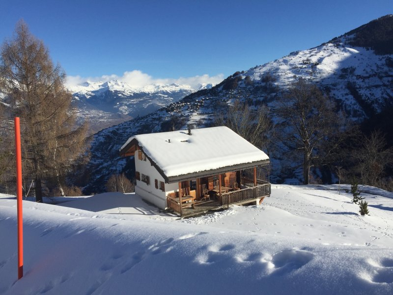 Chalet le Refuge-Dardel - Family ski chalet for 6, holiday rental in Nendaz