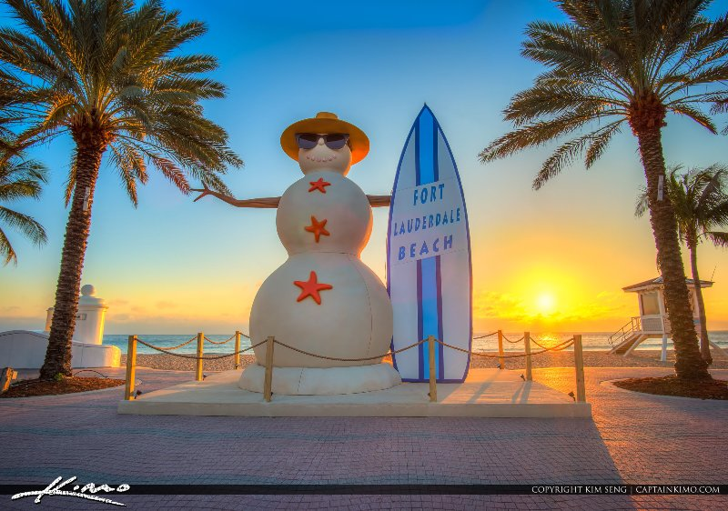 Inverno em Fort Lauderdale