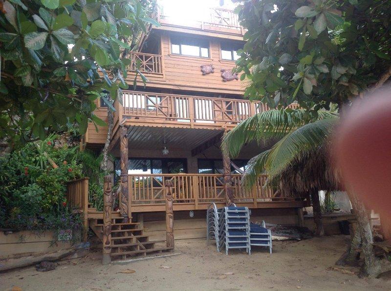 On the beach Villa