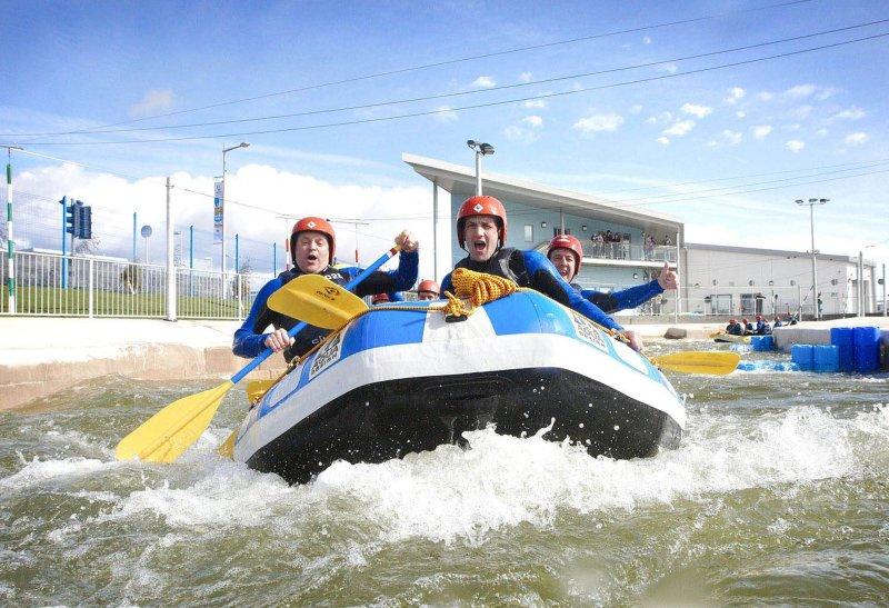 Cardiff International Rafting apenas 8 minutos a pé a partir daqui!