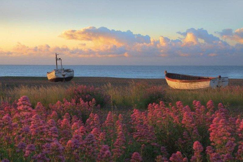 Paseos por la costa costa Aldeburgh Patrimonio