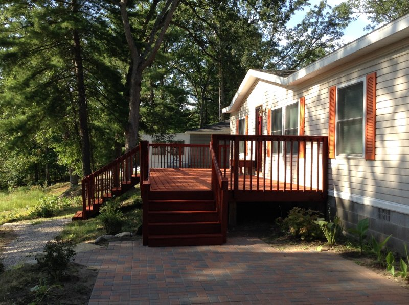 Romantic Lakefront Escape Has DVD Player and Grill - UPDATED ... on