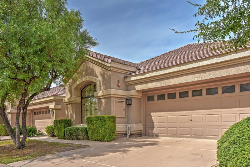 You'll feel right at home in this welcoming Scottsdale vacation rental.