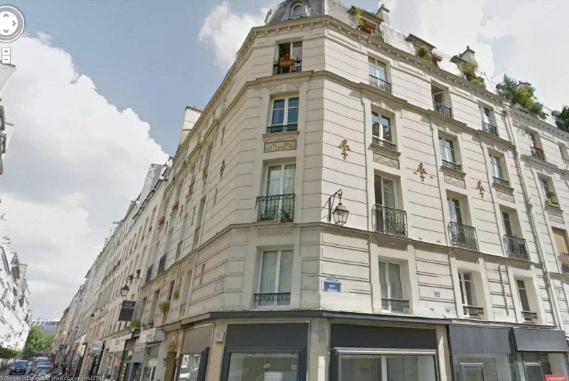 ... Und mein schönes Gebäude Anfang der 1900er Jahre!