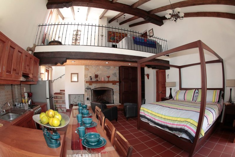 Casa San Miguel: La Suite, location de vacances à Chiapas