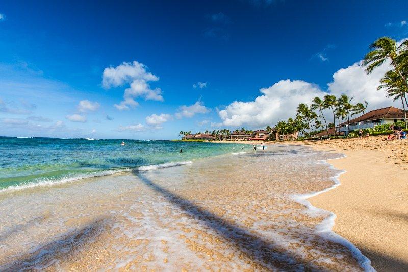Kiahuna op slechts 15 minuten lopen naar een wereldklasse strand
