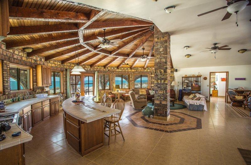 Huge wide-open living space