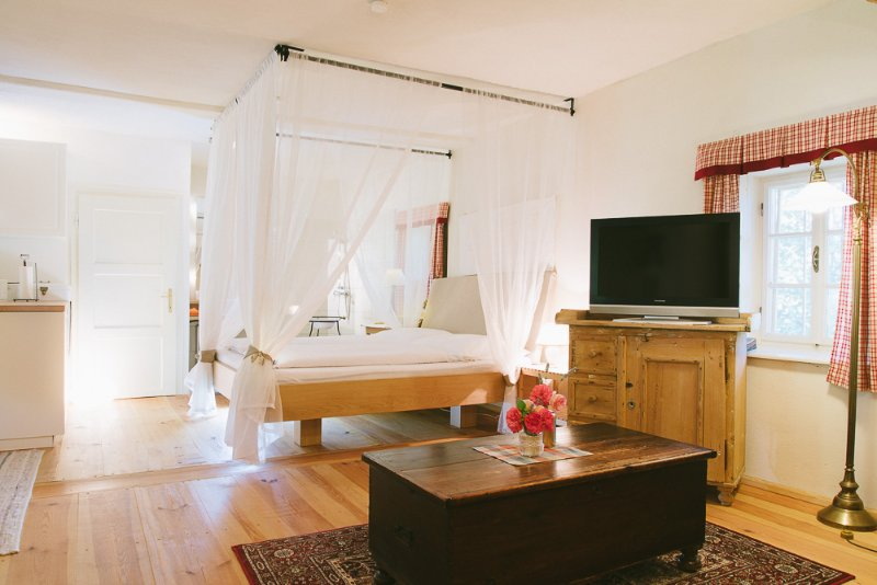 Apartmentwohnung Teichwiesn Loft, location de vacances à Hirschegg Rein