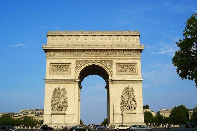 arco Triumph (Champs Elysées) 10 min caminando