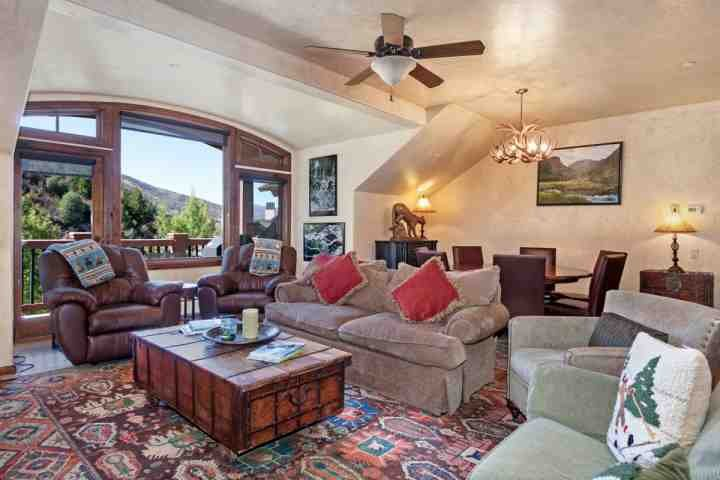 Enjoy the mountain views from kitchen, living or dining area.