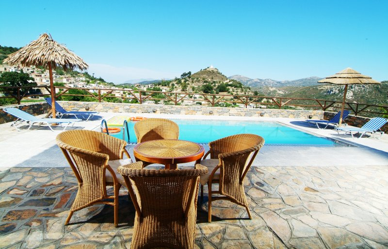 Nikoleta Villa in Picturesque Village, only 10 min drive from the Beach!, holiday rental in Prina