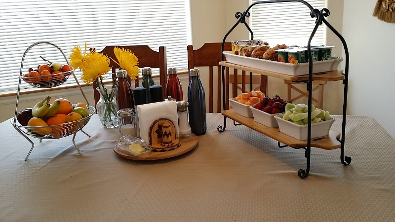 Continental breakfast served daily