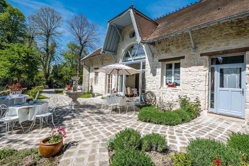 Le Relais de la Licorne, Maison d'hôtes de charme, location de vacances à Baillet-en-France