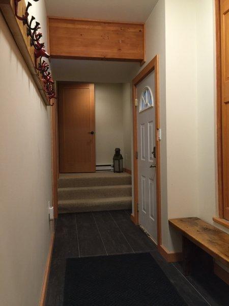 Il nostro modo di ingresso ha pavimenti riscaldati - Grande per le dita dei piedi freddi