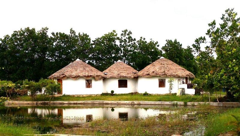 sac de terre rustique location bungalow