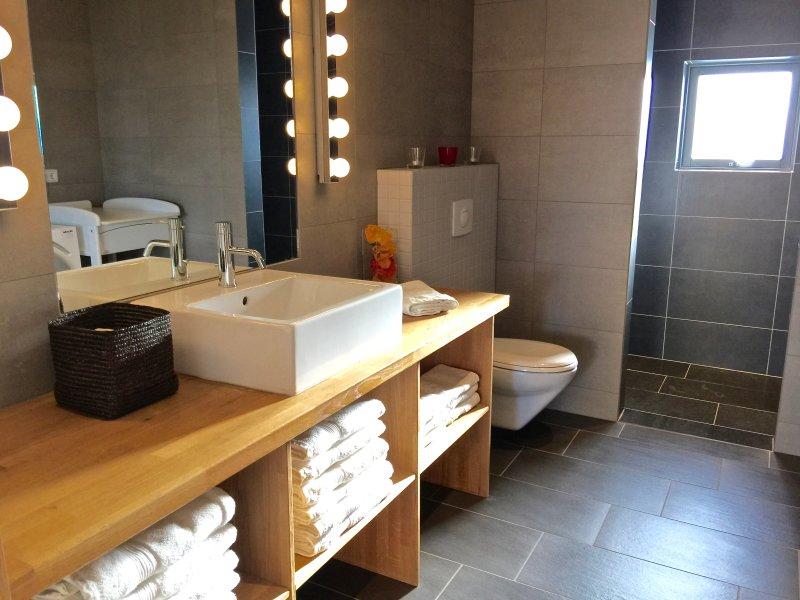 cuarto de baño con una ducha