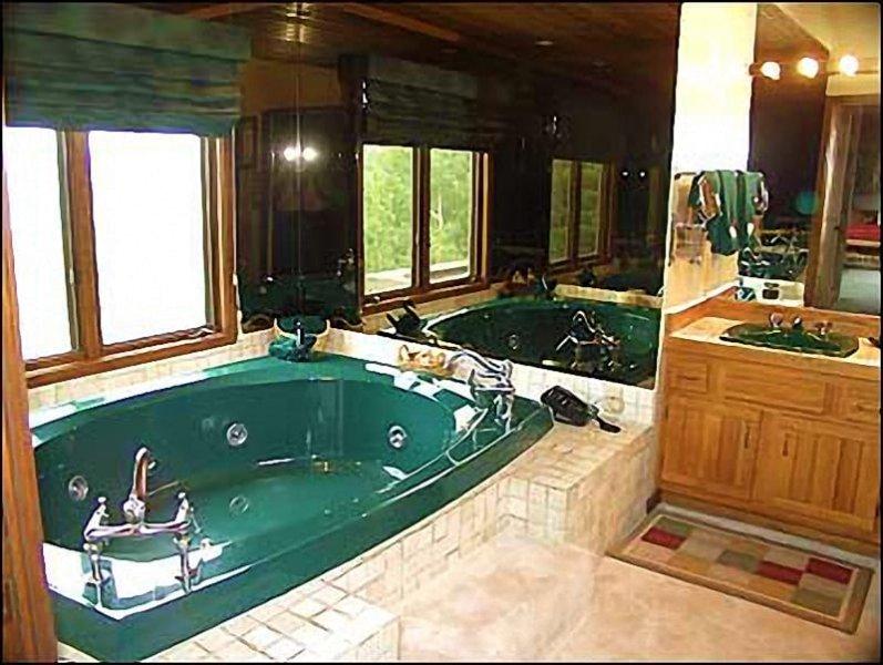 Master Bath w / Jacuzzi Tub