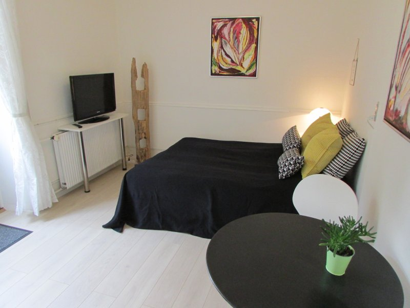 Double Room with Terrace - Provstegården Bed & Breakfast, location de vacances à Bryrup