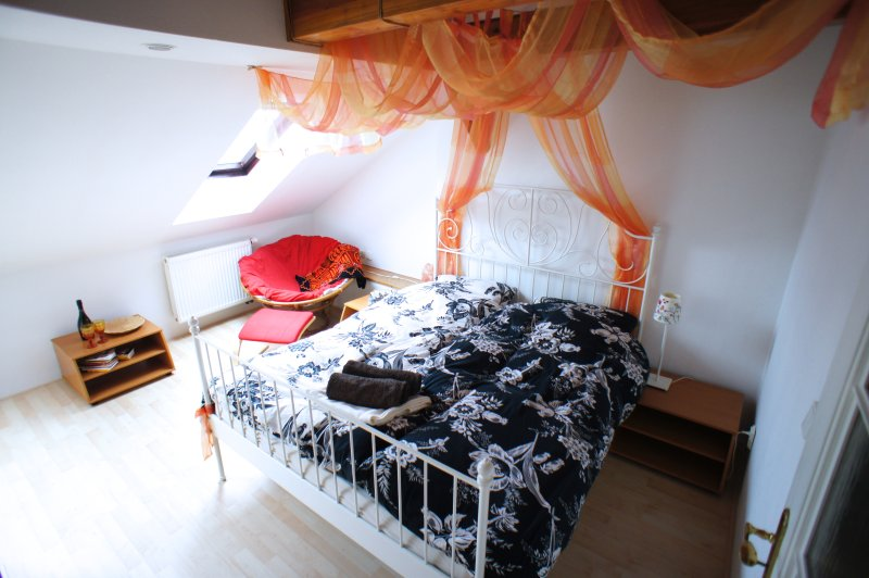 Cosy roof top apartment in the center, vacation rental in Prague