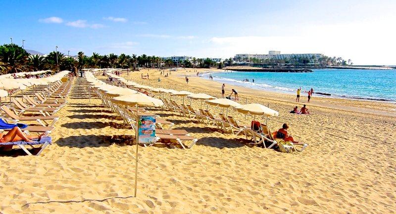 Las Cucharas Beach Costa Teguise