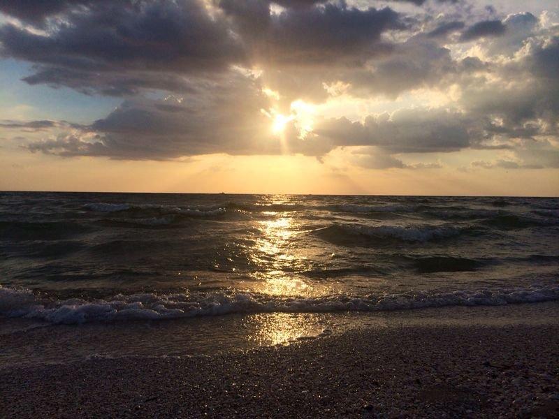 Nápoles Pôr do sol