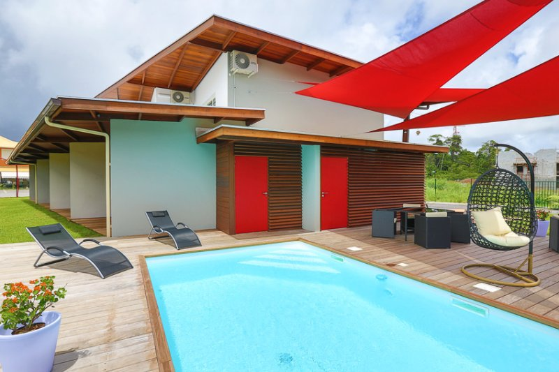 RESIDENCE HIBISCUS 5 Etoiles DUPLEX T2 (beige), holiday rental in French Guiana
