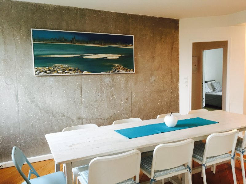 Modern and spacious apartment - Loire Valley Tours, holiday rental in Ballan Mire