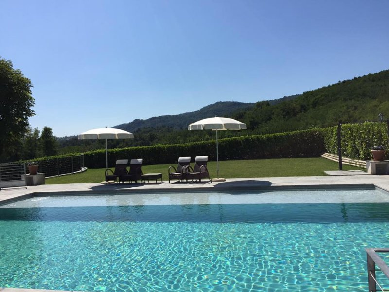 The pool measure 8m x 12 metres and is gated and offers excellent pleasure for the whole family.