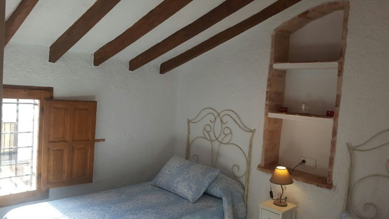 Blue Room No. 2 avec deux lits.