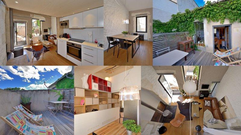fred's loft - designer benoit gillet architecte, holiday rental in Clarensac