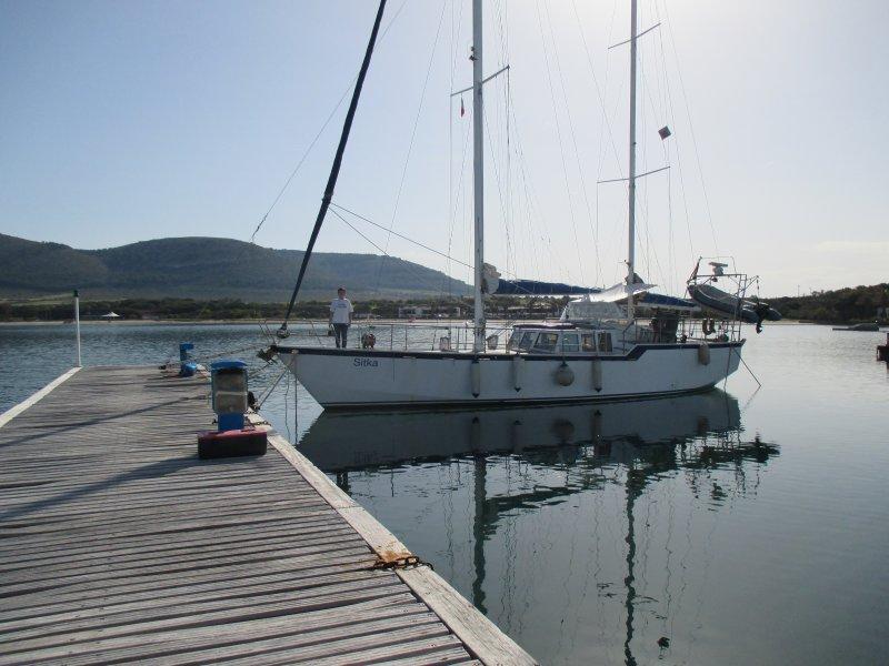 The best berth in the Marina
