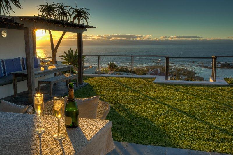 Champagne para impresionantes puestas de sol Clifton