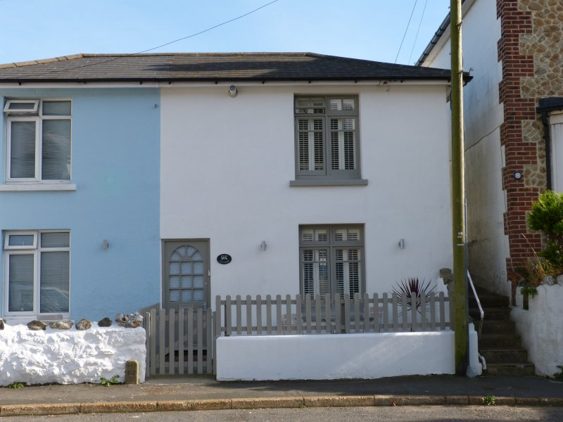 Deceptively Spacious Coastal Cottage arranged with Living Space on the 1st Floor to Capture the View