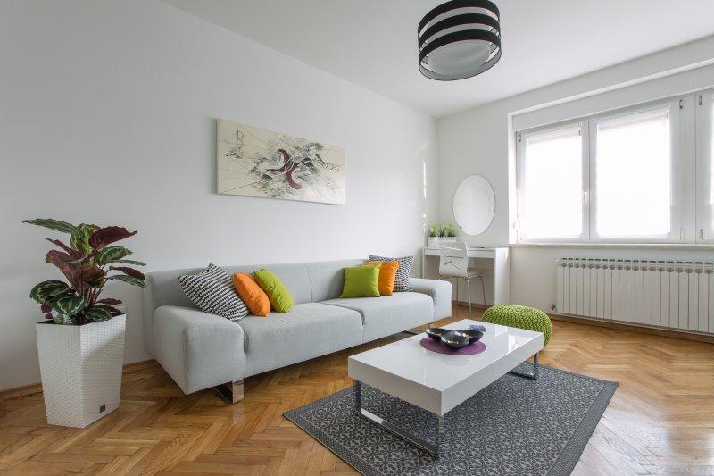 Nuevo, moderno apartamento en una gran ubicación