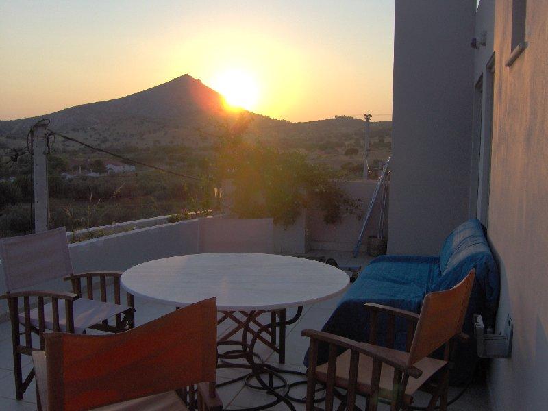 Sunset in Villa ''Sunset at Cape Sounio''