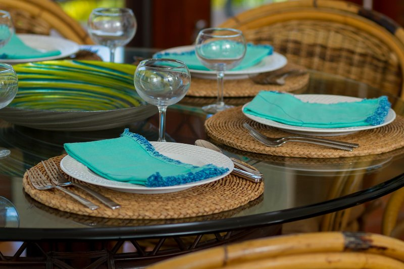 Colorful tableware