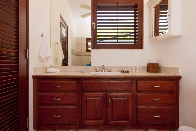 The Garden Master Suite en-suite bathroom