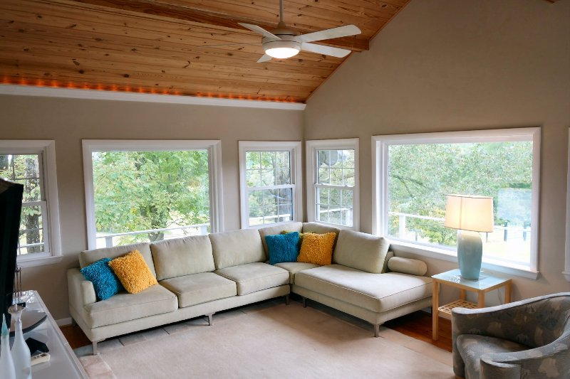 Open bright gathering areas
