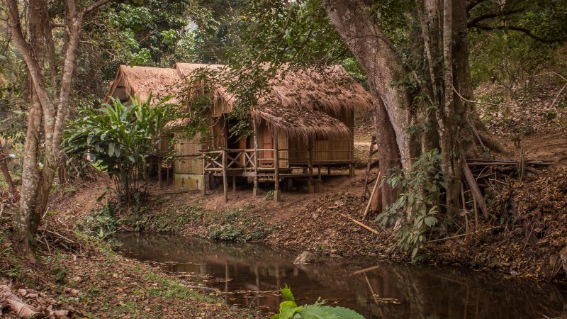 DreamCaught Riverfront Cabin 4, holiday rental in Chiang Dao