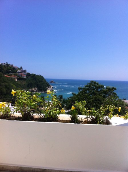Ocean view 2bd condo in the area of 4**** hotel with private beach, 120 m pool and 4 restaurants