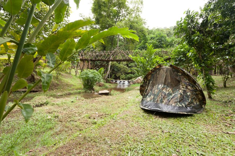 DreamCaught Campsite, holiday rental in Chiang Dao