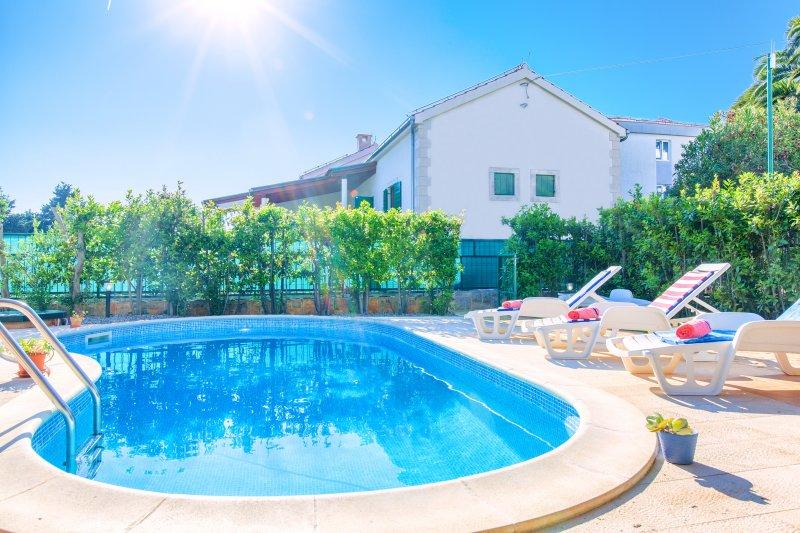 Swimming pool, Villa Cvita, Hvar, Island Hvar