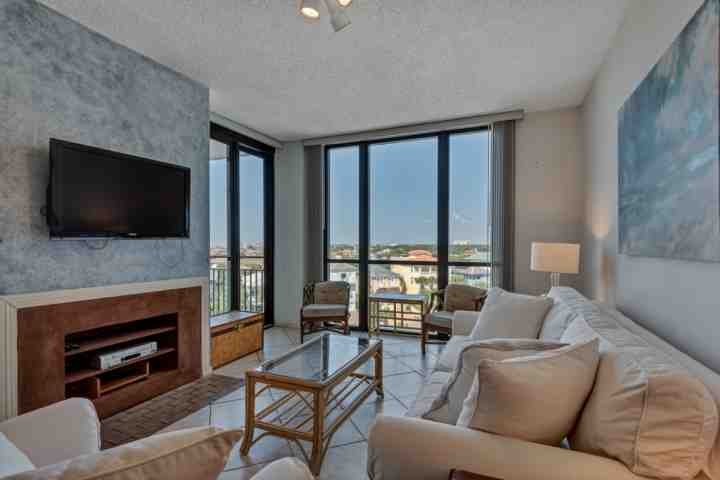 Enjoy the view from this 7th floor unit.