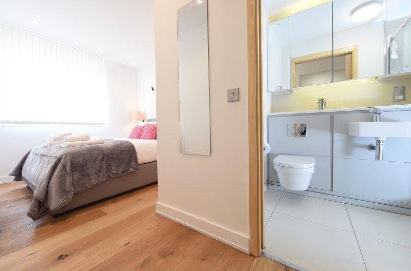 Mater sovrum med badrum