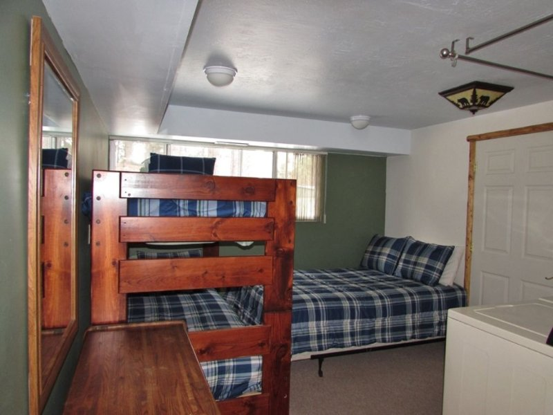 Bedroom Four- Full Sized Bed & Twin Over Twin Bunk