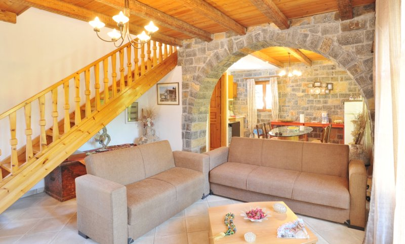 5km from the Beach, Sophie Villa in the Village. Private pool and landscape view, holiday rental in Prina