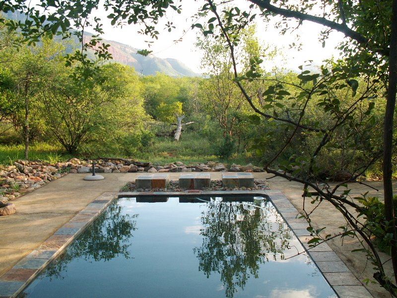 Shikwari Pool with Mountain views
