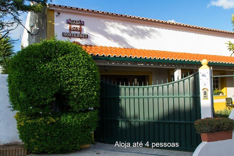 Casa das Hortenses 4pax, alquiler de vacaciones en Mafra