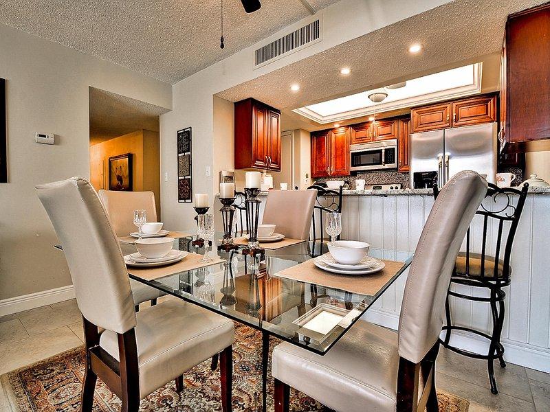 mesa de comedor tiene capacidad para 4 personas