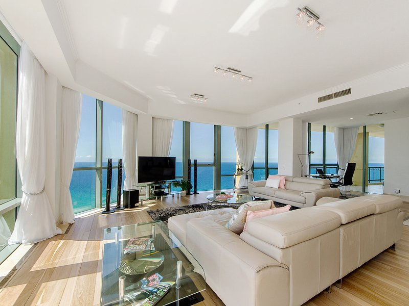 Level 37 Sub Penthouse Full Ocean Views, location de vacances à Surfers Paradise